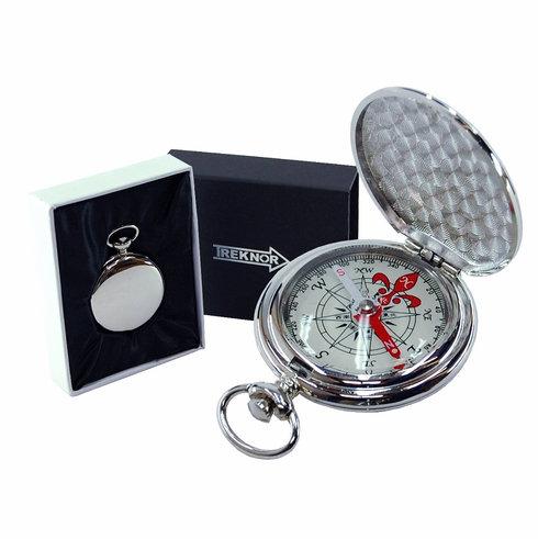 Treknor Pocket Compass – Silver