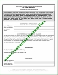 California Unconditional Upon Final Lien Waiver Release (#4)