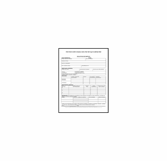 spanish language one page employment application form includes the