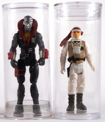"Action Figure Tube <br>2"" x 4"""