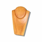 10in. Wood Jewelry Bust Natural