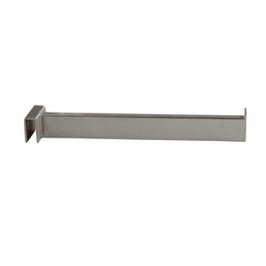 12in. Rectangular Rail Faceout Satin Chrome