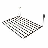 12in.W x 8in.D Gridwall Flat Shelf