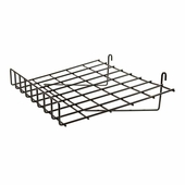 15in. x 24in. Slant Gridwall Shelf w/ Front Lip