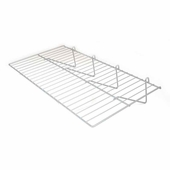 23-1/2in.W x 12in.D Gridwall Flat Shelf