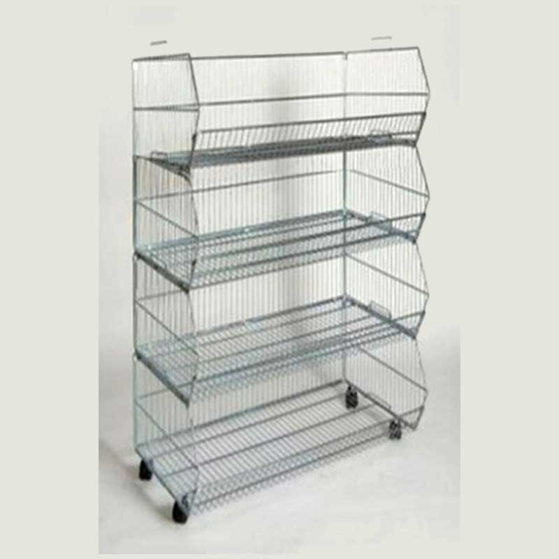 4-Tier Stacking Baskets