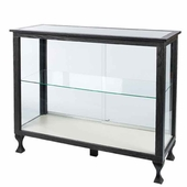 48in. Glass Display Case with Legs