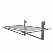 Aaron Contemporary Raw Steel Ladder Display Shelf