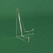 Acrylic Miniature Triangular Easel Large