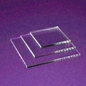 Acrylic Saw-Cut Polished Edges
