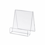 Acrylic Small Display Easel W / 1in.D Lip