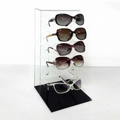Acrylic Sunglass Rack 6 Pair