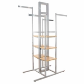Alta Cross Merchandising 4-Way Rack