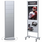 Aluminum Slatwall Displays