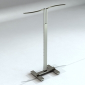 Bauhaus Series Adjustable 2-Way Merchandiser with S-Shaped Hangrail