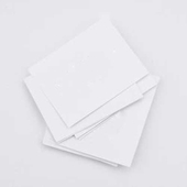 Blank White Inserts for King Dividers (Box of 100)