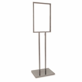Bulletin Sign Holder w/ Extra-Heavy Raised Base
