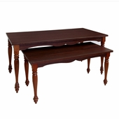 Cherry Wood Nesting Table Set