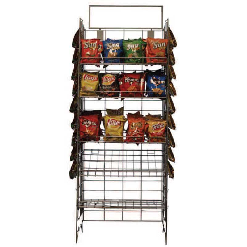 Store Wire Display Rack