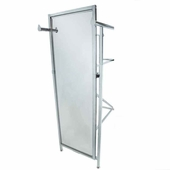 Double Bar Rack Mirror