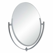 Double-Sided Oval Mirror 10in. x 14in.