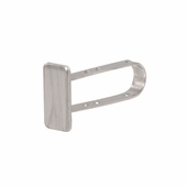 End Cap for 1/2in. x 1in. Tubing Satin Nickel