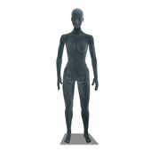 Flexible Mannequin Female Grey