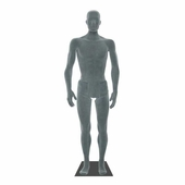 Bendable Mannequin Male Grey