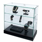 Frameless Counter Display Case