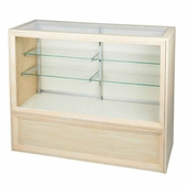 Full Vision Glass Front Display Case