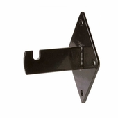 Grid Panel Wall Mount Bracket Black