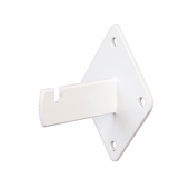 Grid Panel Wall Mount Bracket White