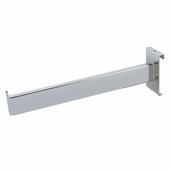Gridwall 12in. Rectangular Tubing Face-Out Chrome