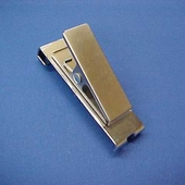 Gridwall 2in. Clips Brushed Chrome (Box of 12)