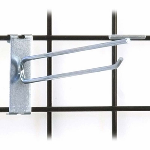 Gridwall Scanner Hook - 10in. Zinc Finish
