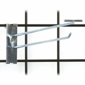 Gridwall Scanner Hook - 12in. Zinc Finish