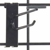 Gridwall Scanner Hook - 4in. Black Finish