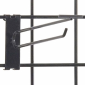 Gridwall Scanner Hook - 8in. Black Finish