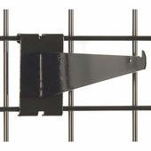 Gridwall Shelf Bracket 10in. Black