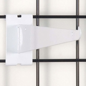 Gridwall Shelf Bracket 10in. White