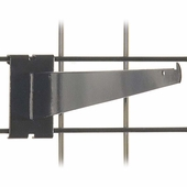 Gridwall Shelf Bracket 14in. Black