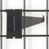Gridwall Shelf Bracket 8in. Black