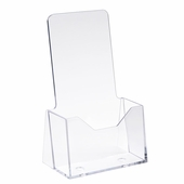 Injection Molded Styrene Literature Holder 4in. x 9in.