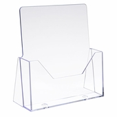 Injection Molded Styrene Literature Holder 8-1/2in. x 11in. (Box of 12)