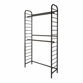 Ladder System Single 2-Tier Wall Unit