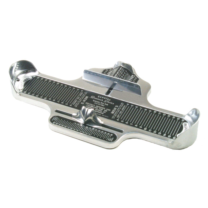 Name Of The Foot Measuring Device : Mens brannock foot measuring device