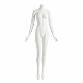 Niki Female Mannequin - Headless, Arms by Side