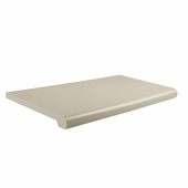 Open Bottom Duron Shelves 13in.D x 24in.W Almond (Box of 4)