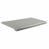 Open Bottom Duron Shelves 13in.D x 24in.W Grey (Box of 4)