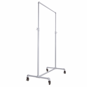 Pipeline Adjustable Ballet Bar Rack White